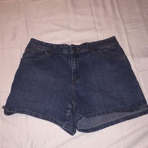 St. John's bay Jean Shorts.